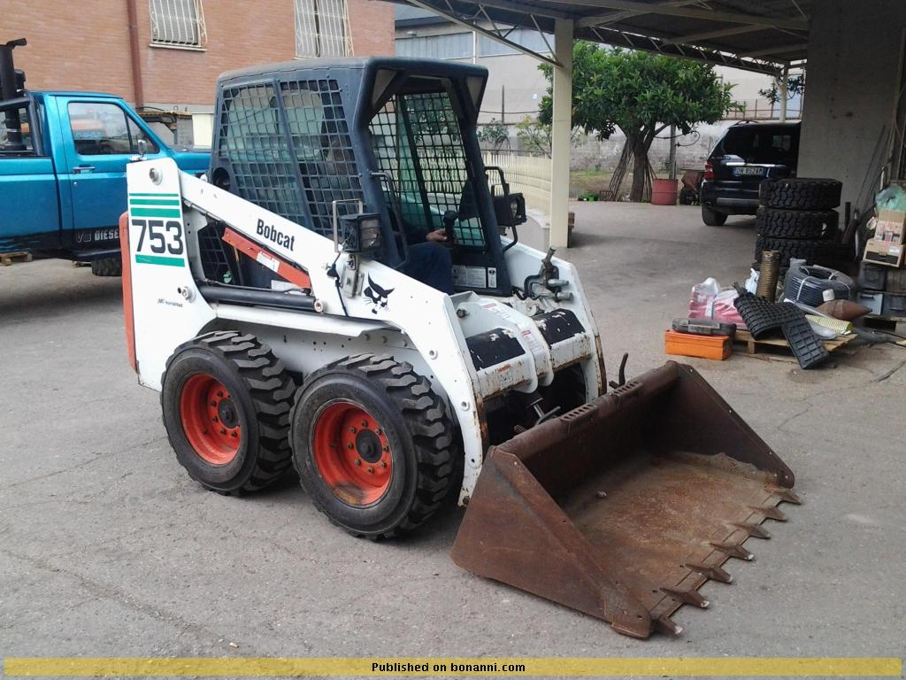 Bobcat 753 Used Skid Steer Loader Year 2001